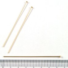 別アングル1: Tピン 38mm 5本 Gold Filled(ゴールドフィルド)14KGF/K14GF