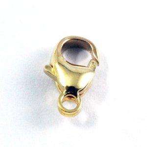 画像1: カニカン トリガークラスプ 11mm 1個 Gold Filled(ゴールドフィルド)14KGF/K14GF