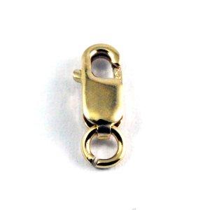 画像1: カニカン ロブスター 8mm 1個 Gold Filled(ゴールドフィルド)14KGF/K14GF